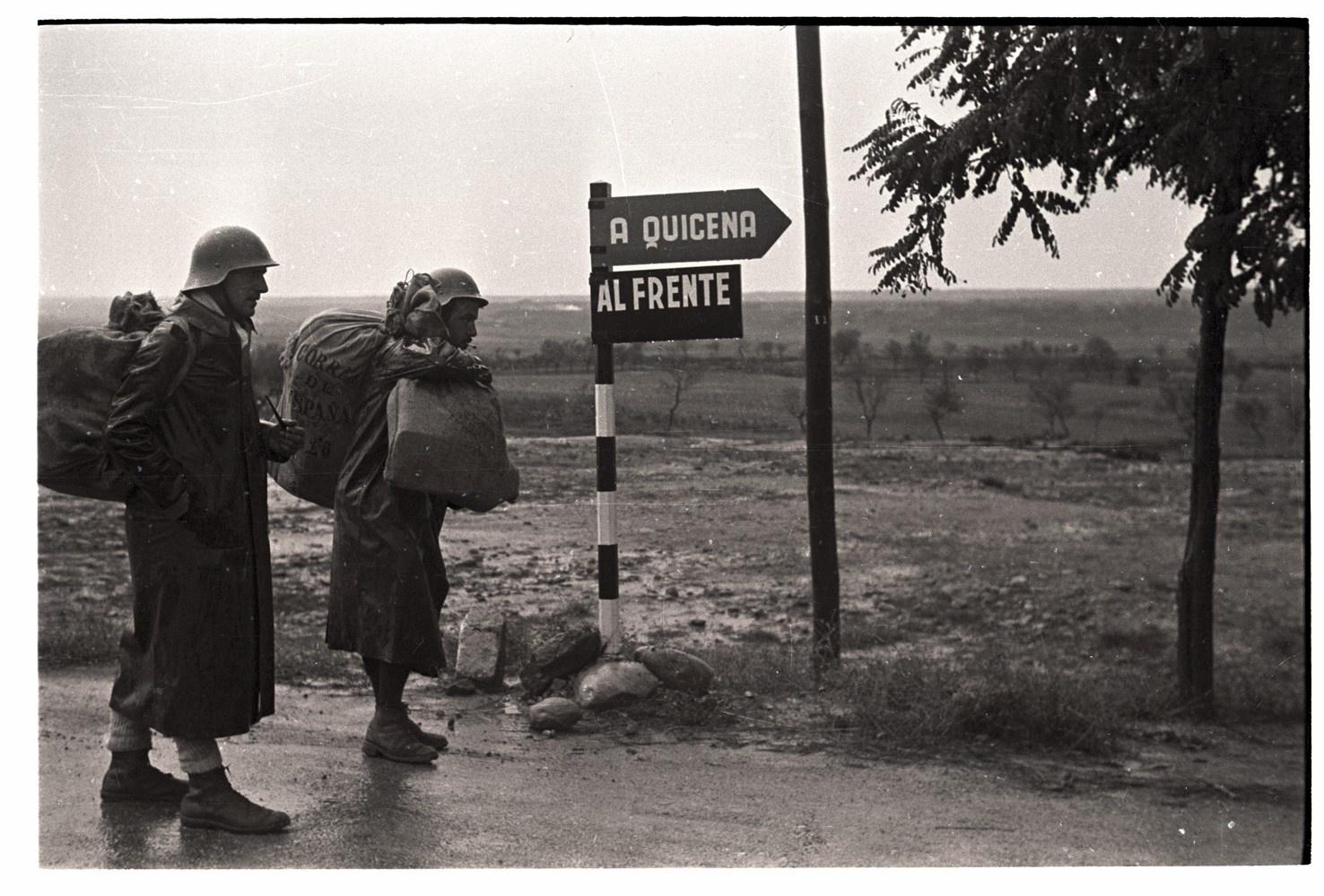 Combatents republicans al Front d'Aragó Novembre de 1936