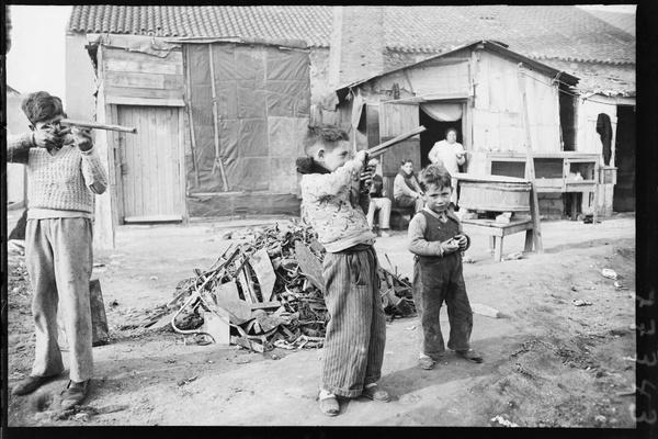 Barraques del barri de Somorrostro. Barcelona, c. 1930