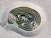 Arkville Maze Maquette (Michael Ayrton, 1968) Cortesia Jacob E. Nyenhuis, Michigan